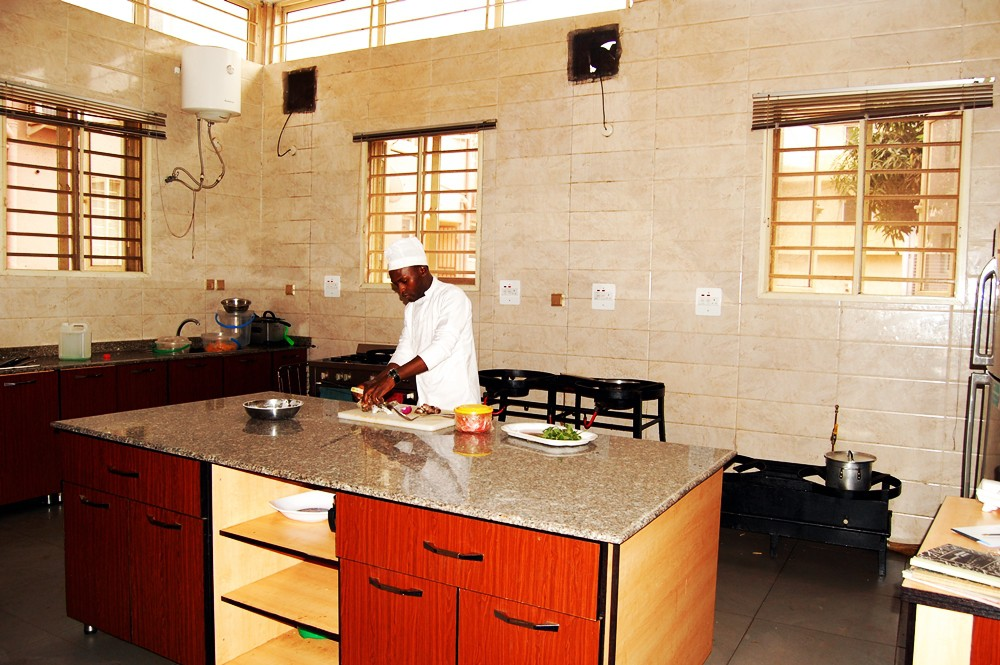 Awesome World Class Kitchen. Because We Take Hygiene Serious, We Have A State Of  The Art Modern Kitchen Facilities That We Use In Preparing Our Tasty Meals.